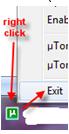 Close uTorrent