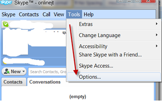 Skype Options