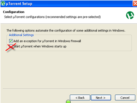 Install µTorrent