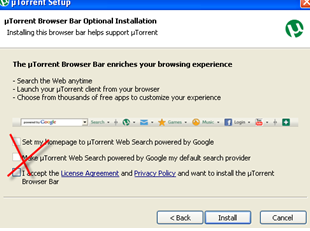 Install uTorrent