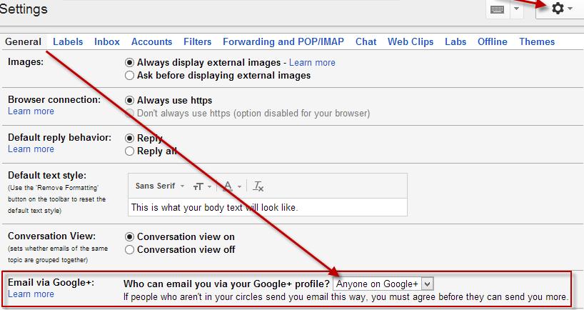 GooglePlussEmails