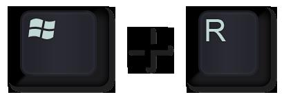 windows-key-R-key